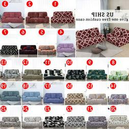 1 2 3 4 Seater Stretch Sofa Cover Floral Couch Cover Protect
