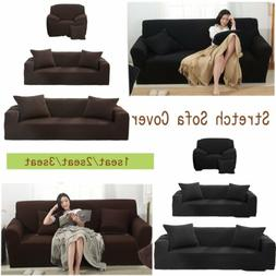 1-3 Seat Stretch Loveseat Sofa Couch Protect Cover Slipcover