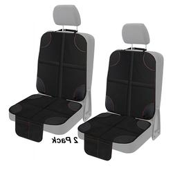 2 Pack Car Seat Protector Storage 2 Mesh Pockets Cover for B