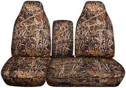 Designcovers 2001-2003 Ford F-150 Camo Truck Seat Covers  w