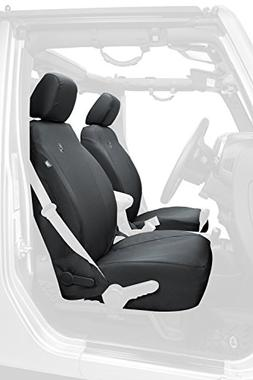 Bestop 29283-35 Black Diamond Front Seat Cover for 2013-2018