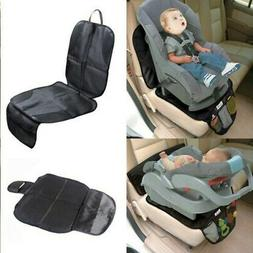 2pcs Car Seat Protector, Storage Mesh Pockets, Carseat Cover