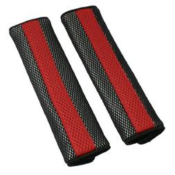 uxcell 2pcs Universal Car Detachable Fastener Red Black Seat