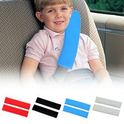 2x Car Seat Belt Cover Pads Car Safety Cushion Covers Strap