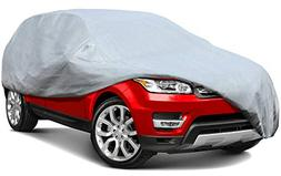 Leader Accessories 5 Layers SUV Cover 100% Waterproof UV Ray