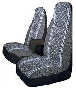 Allison 67-1917GRY Gray Diamond Back 60/40 Split Truck Seat