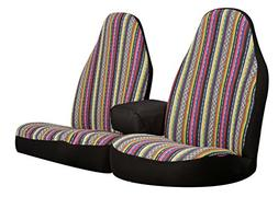 Allison 67-2217 Multi-Color Prairie Stripe Truck Bench Seat