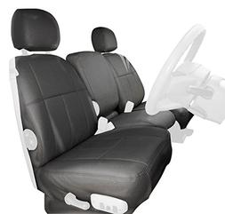 Clazzio 220731tan Tan Leather Front Row Seat Cover for Toyota Tundra Double Cab