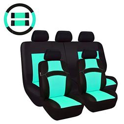 CAR PASS Rainbow Universal Fit Car Seat Cover -100% Breathab