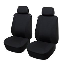 Elantrip Car Front Seat Cover Set Universal Dual-Side Airbag