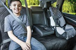 Bench Seat Protector For Up To 3 Seatbelts With Removable Zi