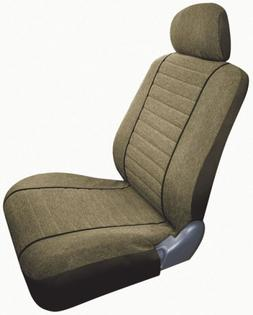 Saddleman Custom Made Front/Rear Bucket Seat Covers - Cambri
