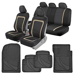 BDK Advanced Performance Car Seat Covers & Heavy Duty Rubber