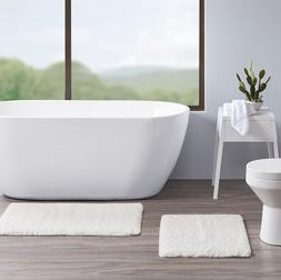 annie 100 percent polyester tufted solid bath