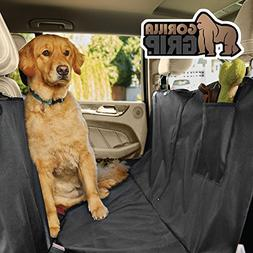 Auto Car Pet Dog Back Rear Seat Bench Mat Cushion Cover Wate