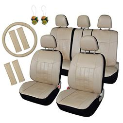 Leader Accessories Auto Car Seat Covers 17pcs Combo Pack Bei