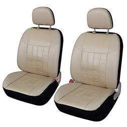 Leader Accessories Auto Low Back Leather Front Car Seat Cove