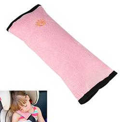 Kids Auto Seat Belt Pillow, XIANCAIDAN Baby Car Seat Belt Co