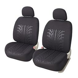 Leader Accessories Auto Universal 2 Front Seat Covers Low Ba