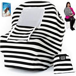 Baby Car Seat Cover & Nursing Cover | Multiuse Breastfeeding