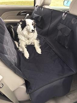 Baileys Premium Pet Car Seat Cover and Hammock with Pockets,