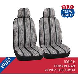West Coast Auto Baja Blanket Bucket Seat Cover for Car, Truc