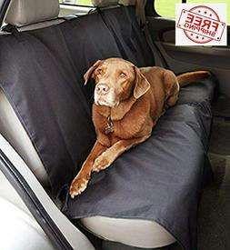 Basics Waterproof Car Back Bench Seat Cover Protector for Pe