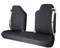 Leader Accessories Black Pick up Truck Car Seat Cover Compat