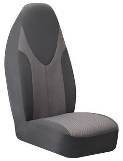 Braxton Universal Bucket Seat Cover, Grey  - Pack of 2