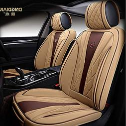 Amooca Bucket seat Covers Anti-Slip Backing PU Leather car s