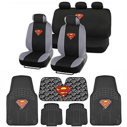 c1604 superman seat cover and carpet floor