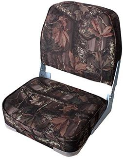 Leader Accessories Camo Folding Marine Boat Seat