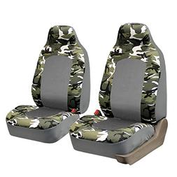 FH Group Camouflage Front High Back Car Truck SUV Bucket Sea