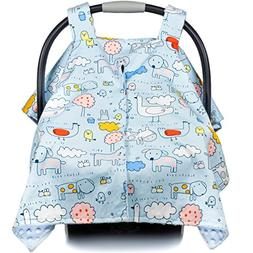 Premium Baby Carseat Canopy and Nursing Cover 2-in-1 | All S