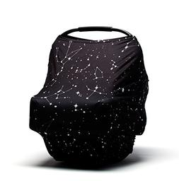 Baby Car Seat Cover - Nursing Cover - Stroller, Carseat Cano