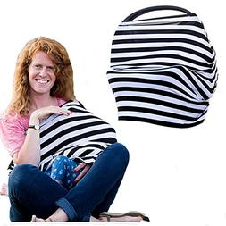 Baby Car Seat Cover - Multi-Use Baby Canopy | Nursing Cover