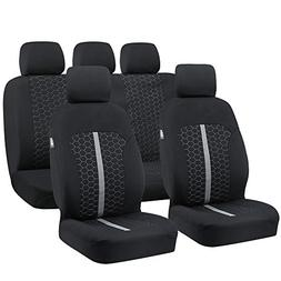 Car Seat Covers, Unique Flat Cloth Fabric Seat Covers Breath