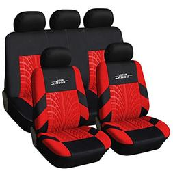 AUTOYOUTH Car Seat Covers Universal Fit Full Set Car Seat Pr