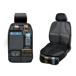 Car Seat Protector Thickest Padded Waterproof Back 5 Organiz