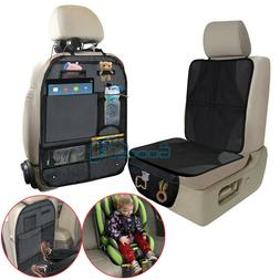 Car Seat Protector Thickest Padded Waterproof Back Seat Orga