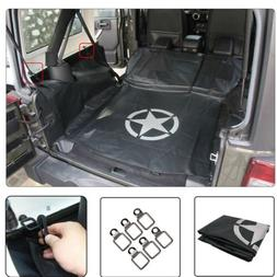 Cargo Liner Waterproof Pet Bench Seat Cover Dog Hammock For