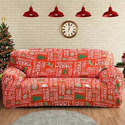 Forcheer Christmas Home Decorations Stretch Couch Covers Sof