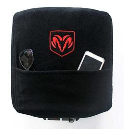 Seat Armour Custom Fit Console Cover with Embroidered Logo f