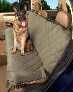 Deluxe Pet Car Seat Cover, Quilted, Water Resistant, and Mac