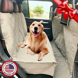 Formosa Covers Quilted and Padded Dog Pet Car Seat Cover wit