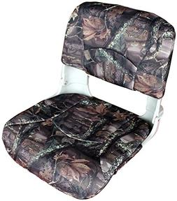 Leader Accessories Deluxe All Weather Camo Folding Boat Seat