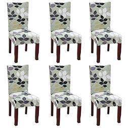 YISUN Dining Chair Slipcovers, Stretch Removable Washable