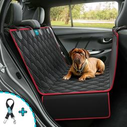 Dog Seat Cover Hammock for Back Seat Durable Waterproof Car