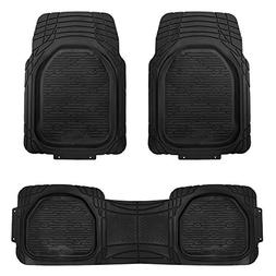 FH Group F11323 Supreme Trimmable Rubber Floor Mats- Fit Mos