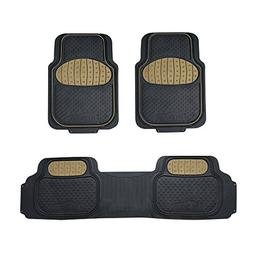 FH Group F11500 Touchdown Floor mats Full Set Rubber Floor M
